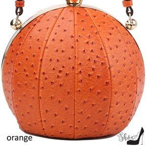 My Bag Lady Online Bags - Ostrich & Alligator Round Ball handbag